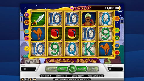 Arabian Nigts Slot Machine - Land Your Lucky Combination