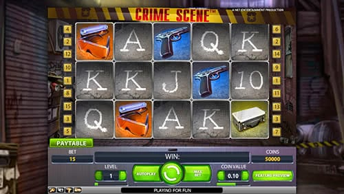 Crime Scene Slots Winning Combos Will Fully Reward You For Successful Investigation