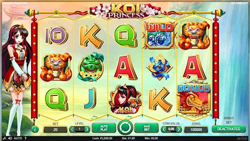 Koi Princess Slot Machine By NetEnt Is Absolutely Free On Our Website!
