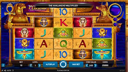 Play NetEnt Pyramid Slots For Free Online