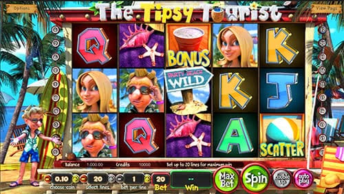 Play The Tipsy Tourist slot for free, read the review and have a great time on our website!
