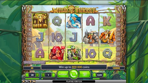 Wild Turkey Slot Machine - Incredible Tribe Of Funny Birds By NetEnt