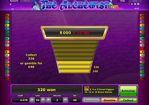 online slot alchemist spiel