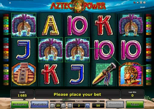 aztec-power play online