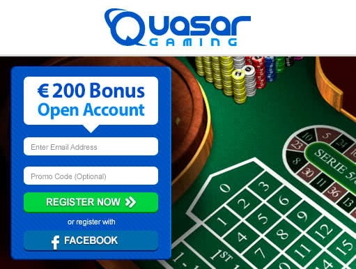 Play European Roulette online at QuasarGaming