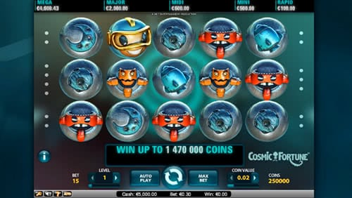 Cosmic Fortune Slot - Free Bonus Games Will Multiply Your Wins
