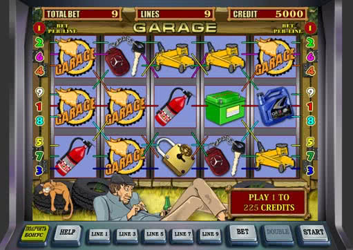 casino games garage online