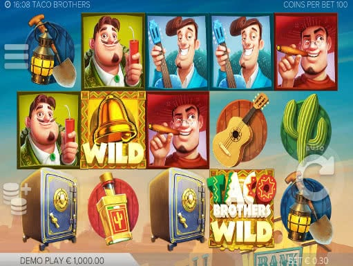Taco Brothers Online Slots for Real Money - Rizk Casino