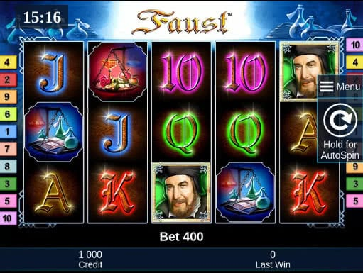 faust slot machine