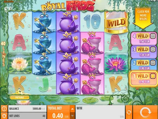 Frog Princess Slot - Play for Free in Your Web Browser