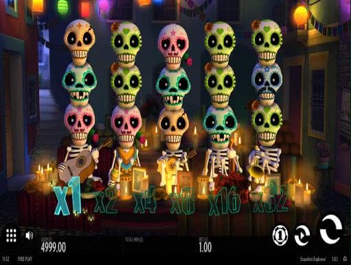 esqueleto explosivo casino