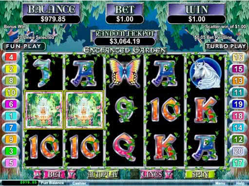 free slots enchanted garden