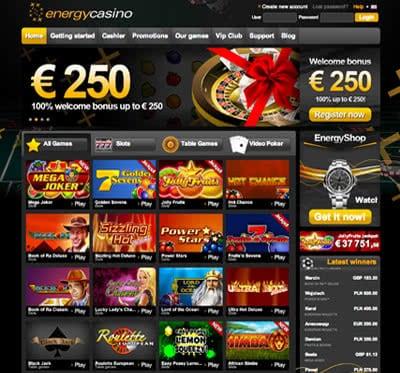 casino energy