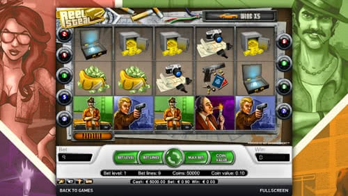 Reel Steal Slot Review Guarantees Successful Deal And Good Cash Stake