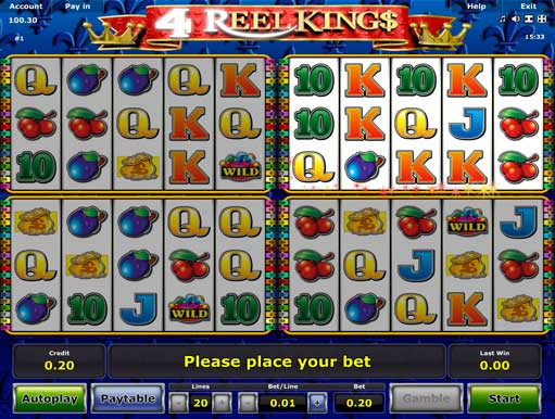 4 Reel Kings slot