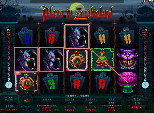 Zombie Vegas Slots - Play for Free in Your Web Browser