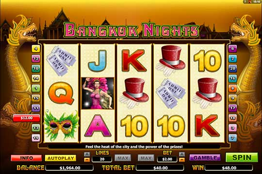 Play the Bangkok Nights Slot Game for Free Today