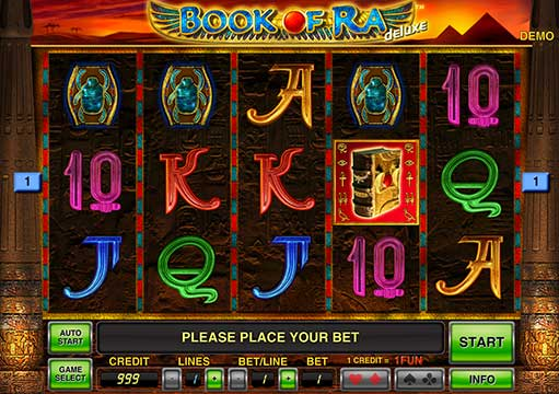 book of ra free gaminator