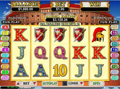 caesars palace online casino slot games book of ra