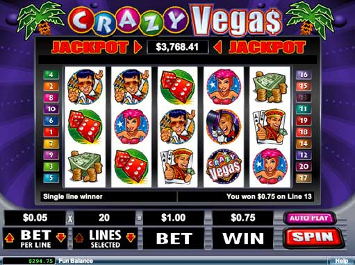 vegas slot machines online free