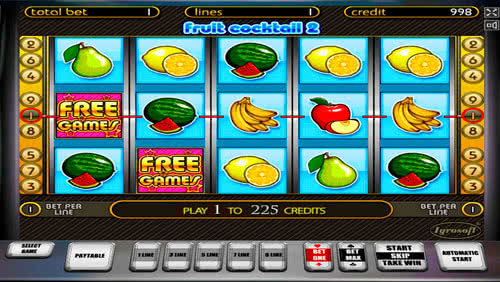 online slot games cocktail spiele