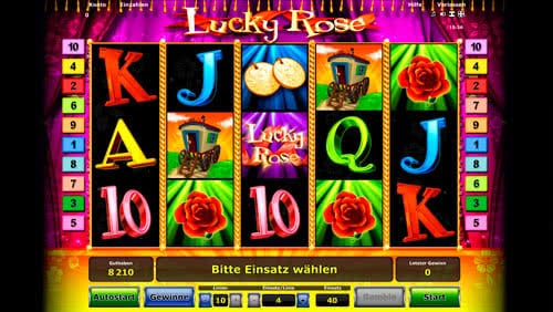 Lucky Rose Slot - Play the Free Casino Game Online