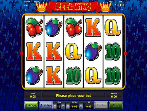 online casino slots reel king