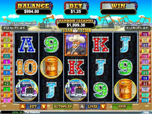 Texas Tycoon Slot Machine