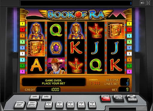 free online casino games book ra