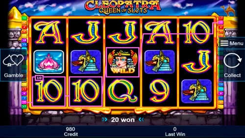 cleopatra online slot book of ra knacken
