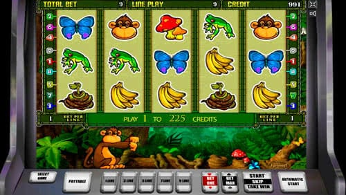 Crazy Monkey Slot Machine - Try the Free Demo Version