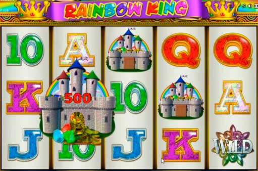 free casino games online rainbow king