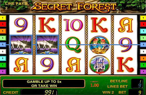 secrets of the forest vegas slots online