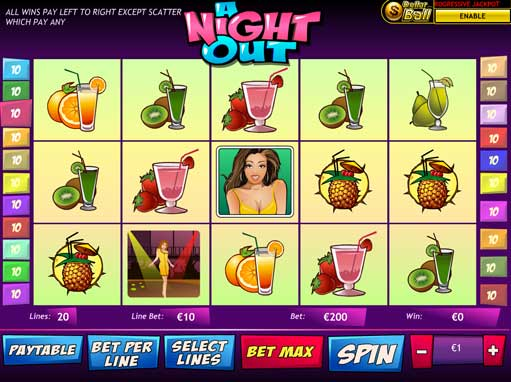 Play A Night Out slot machine