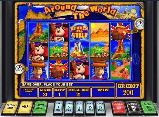 Around the World Slot Machine - Try for Free Online