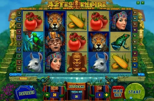 Test Aztec Empire slot game online