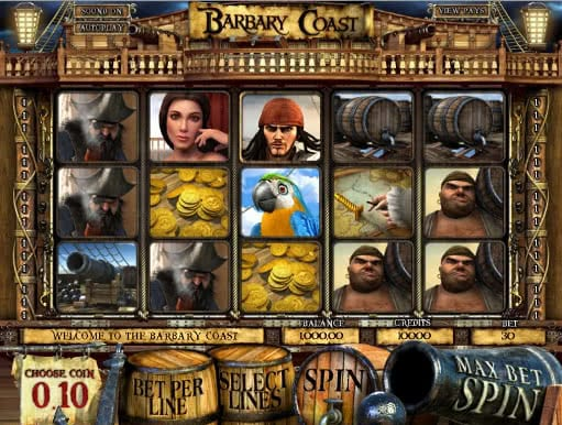 Enjoy Barbary Coast slot machine