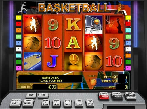 Gamble Basketball slot machine online