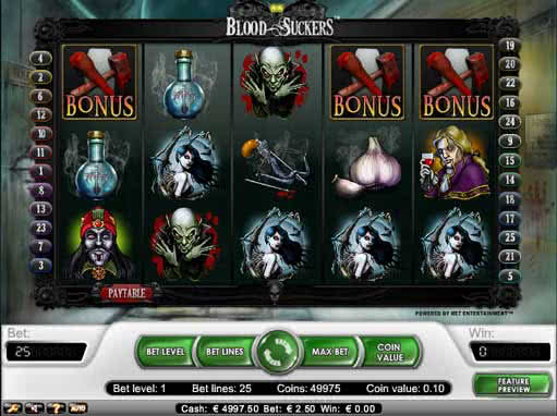 Blood Suckers II Slot Machine - Play Online for Free Now