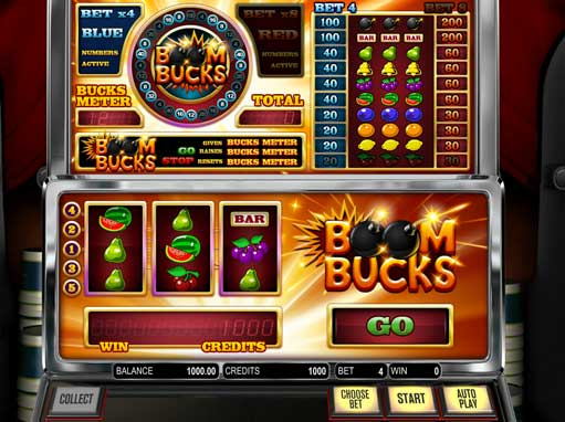 Boom Bucks slot game online