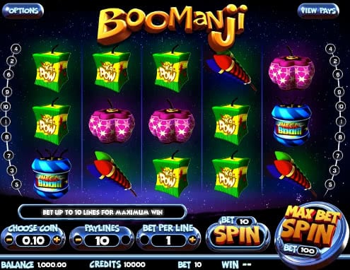 Gamble Boomanji slots machine for free