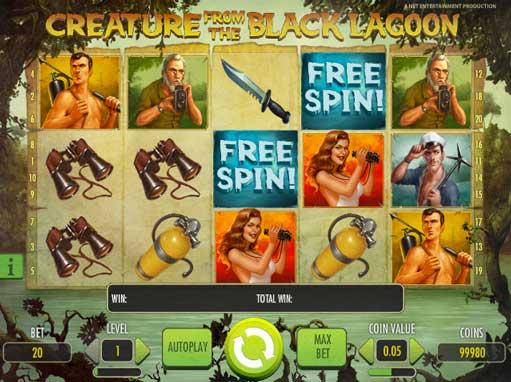 Play Creature from the Black Lagoon Slot | PlayOJO