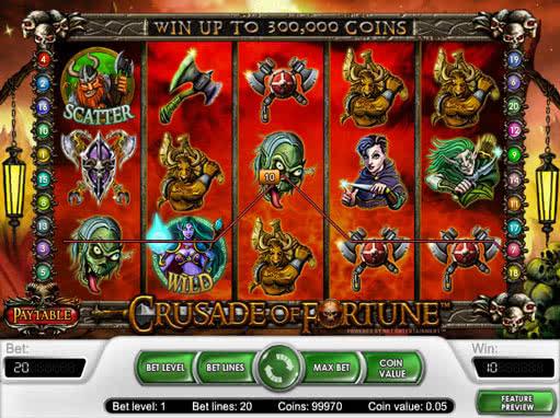 Crusade of Fortune Slot - Spela Crusade of Fortune Slots Gratis