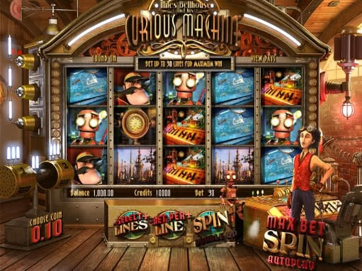 Gamble Curious Machine slot for free