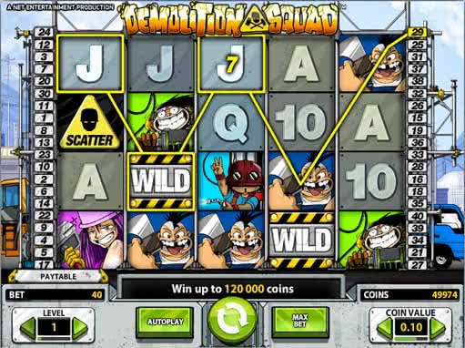Demolition Squad - spil online slots gratis