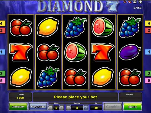 Play Diamond 7 slot machine