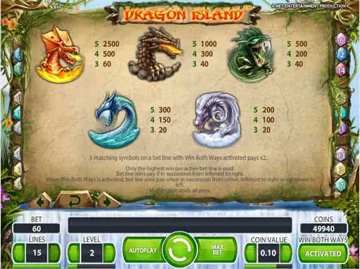 free online bonus slots for fun dragon island