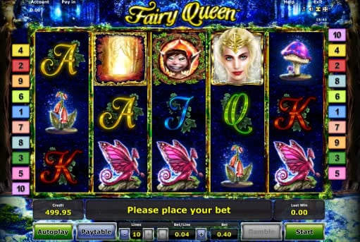 Gamble free Fairy Queen slot online