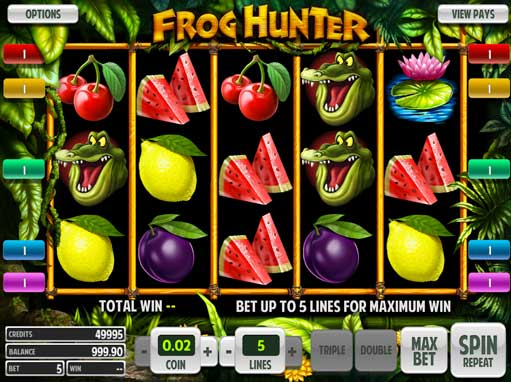 Frog Hunter™ Slot Machine Game to Play Free in BetSofts Online Casinos