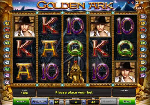 Golden Ark slot online at Webslotcasino